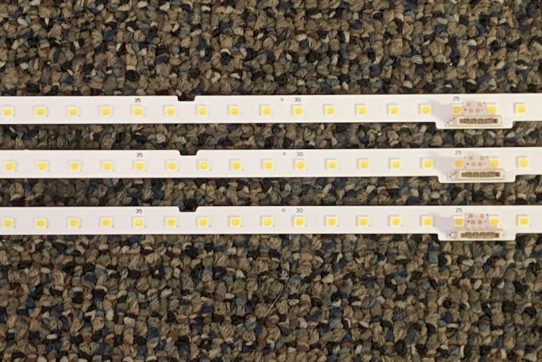 Samsung BN96-46078A Edge Lit LED Backlight Strips/Bars (3)