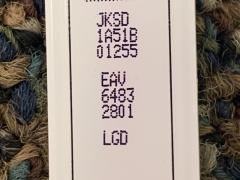 LG EAV64832801 LED Backlight Strips (4)