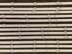 LG/Vizio LC470DUE-SFR1 LC470DUG-JFR1 LED Backlight Strips Set (12)